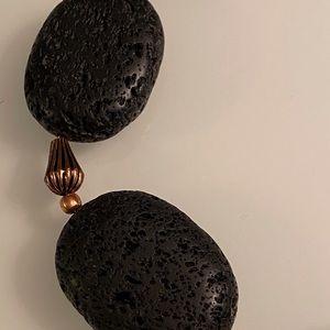 Jewelry - Black Lava Stone Necklace
